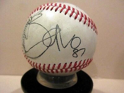 U2 Novelty 1987 Autographed Baseball  Bono * New Design for 2017*