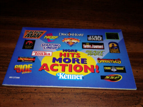 1996 Kenner Toy Catalog More Hits More Action Batman Nerf Tonka Star Wars + more