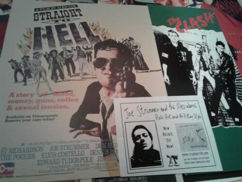Vintage Joe Strummer The Clash Clippings Longbox Cover