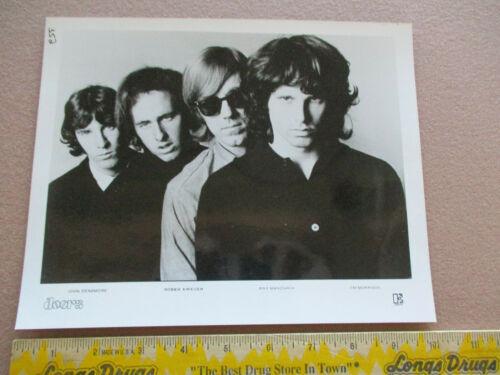 The Doors / Jim Morrison - Elektra Records B & W 8 X 10 Publicity Photo VG+ $18