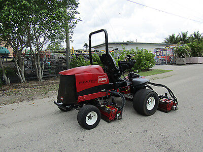 Toro 5510 Fairway Reel Lawn Mower Kubota Diesel 100 Cut - Dpa Reels Model 03680