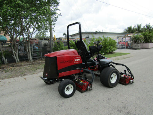 "Toro 5510 Fairway Reel Lawn Mower Kubota Diesel 100"" cut - DPA reels Model 03680"