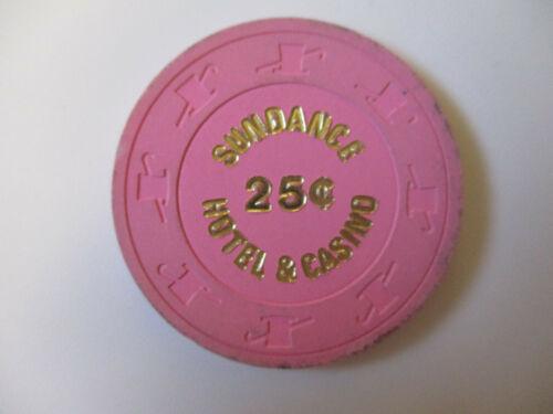 vintage Sundance Hotel & Casino  Nevada 25 Cent Poker Chip