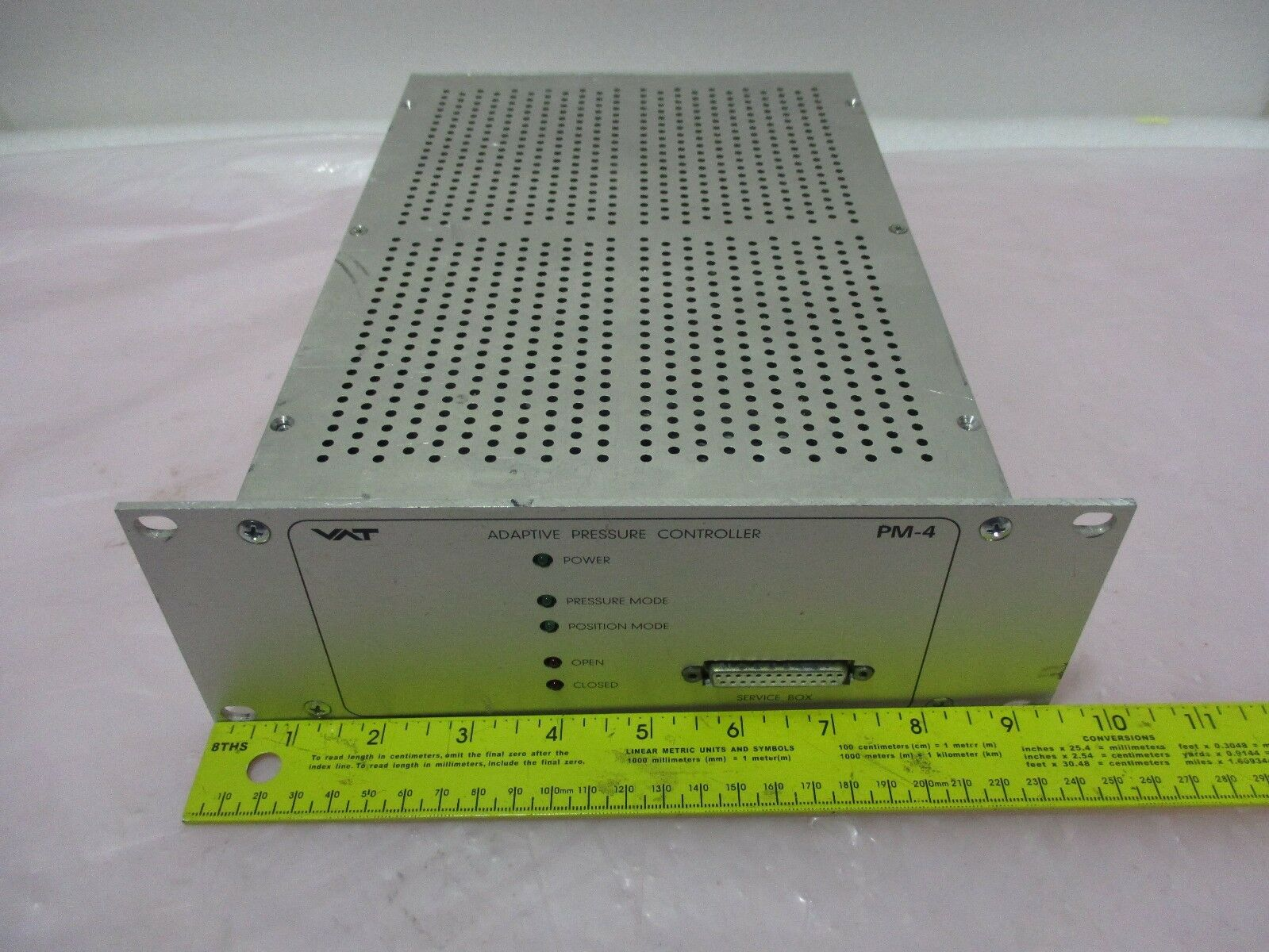 VAT PM-4 Adaptive Pressure Controller FABR 641PM-94NM-1001/001  420428