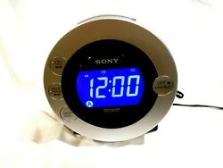 Sony Dream Machine Model ICF-CD31P   CD I Pod AM/FM Clock Radio
