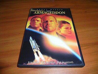 Armageddon  Dvd  Widescreen 1999  Bruce Willis Used Liv Tyler  Ben Affleck Used
