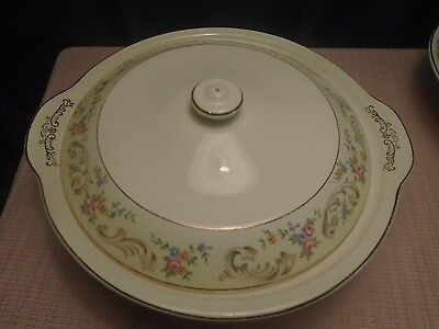 Vintage Paden City Pottery Duchess Covered Veg. Bowl  1948