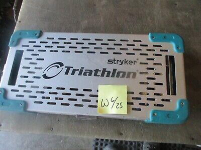 Used Stryker Triathlon Reunion Fracture Instrument Set Missing Parts