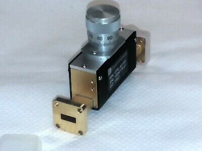 Ducommuncpl-42-02 Wr-42 33 To 50 Ghz Waveguide Phase Shifter Gold Plated