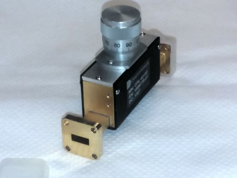 Ducommun CPL-42-02 (WR-42) 18 to 26.5 GHz Waveguide Phase Shifter PRICE LOWERED!