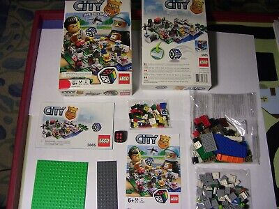 LEGO 3865 Buildable Game CITY ALARM Join the Chase! OPENED box, SEALED bags