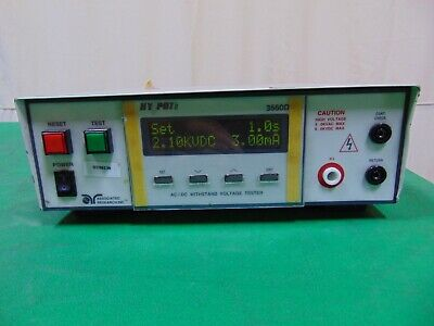 Associated Research Hypot Ii 3560d Digital Acdc Withstand Voltage Tester