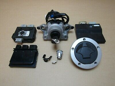 Kawasaki ZR1000 FFF Z1000 2015 10,613 miles ECU ignition lockset (4301)