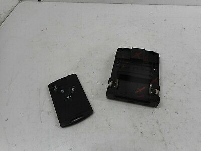 2011 RENAULT MEGANE MK3 IGNITION KEY CARD READER WITH CARD 285909828