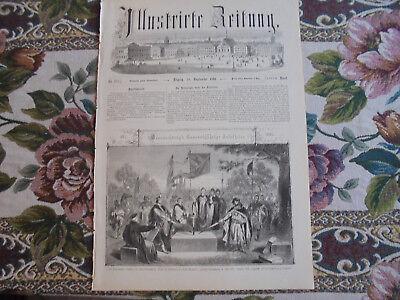 1861 Stich 218 / 1000 Jahre Braunschweig