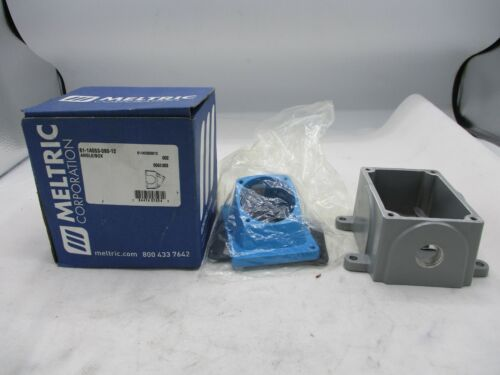 New Meltric 61-1a053-080-12 Angle Junction Box Electrical Enclosure
