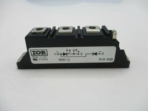 INTERNATIONAL RECTIFIER I&R IRKH91/12 THRYSTOR/DIODE MODULE