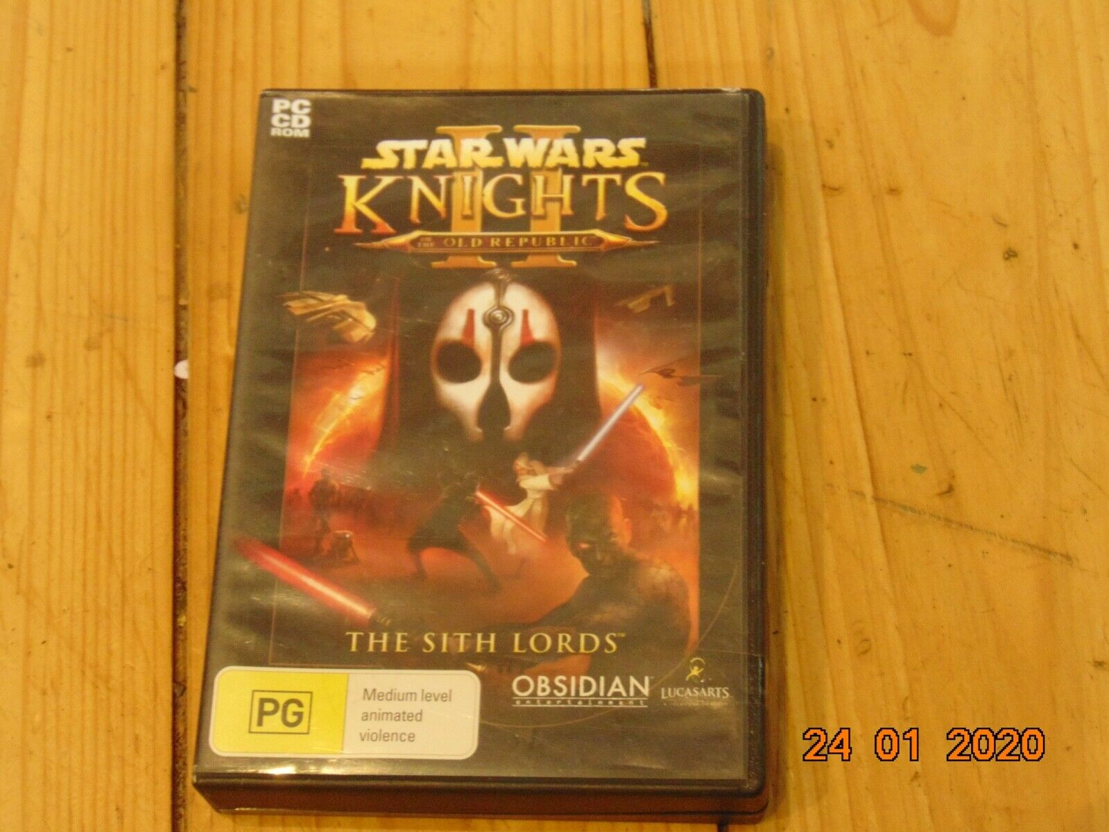 Computer Games - STAR WARS Knights Of The Old Republic II 2 The Sith Lords PC CD-ROM RPG Game