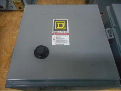 SQUARE D 30072-007-68C ELECTRICAL ENCLOSURE NEMA SIZE 1 STARTER