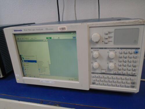 Tektronix TLA 714 Logic Analyzer Windows 2000