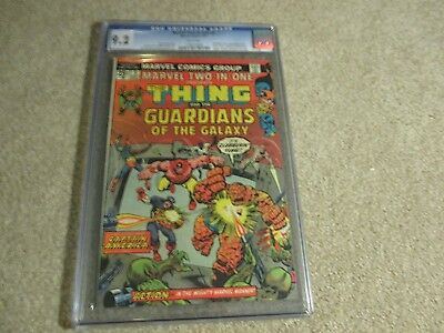 Marvel Two In One The Thing   2Nd App Guardians Of The Galaxy Cgc 9 2 1974