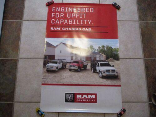 "MoPar Dealership Poster - Ram Trucks - 36"" x 24"" - Franchised Dealer Item"