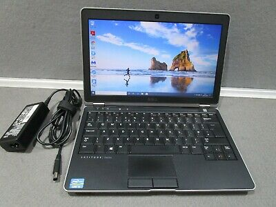 Dell Latitude E6230 Core i5 2.6 GHZ 6GB Ram 320gb HDD HDMI WIFI Webcam Win10 Pro
