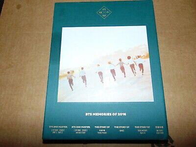 BTS Official Memories of 2016 DVD + PHOTOBOOK + PHOTOCARD