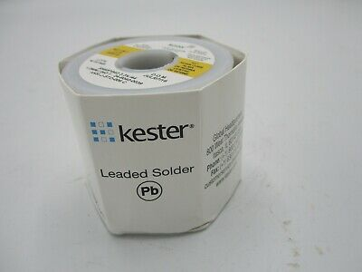 New Kester Leaded Solder Sn60pb40 3.344 1.0 Mm .040 1 Lb 24-6040-0039
