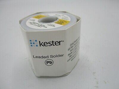 New Kester Leaded Solder Sn60pb40 3.344 1.0 Mm .040 1 Lb 24-6040-0039