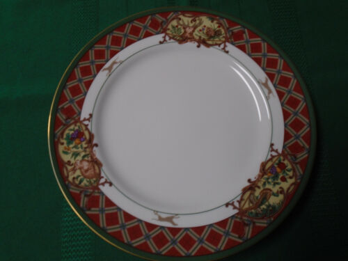 Set of 2 Noritake ROYAL HUNT China Dinner Plates MINT CONDITION