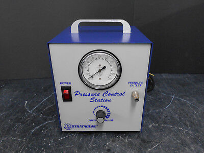 Stratagene 400343-00 Pressure Control Ii Station 115vac 2.0a 60hz