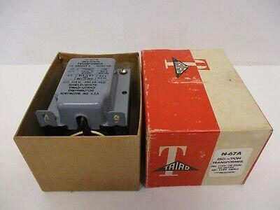 Triad N-67a Isolation Transformer Pri 115v Or 230v 5060 Cps Lectrostatic Nib