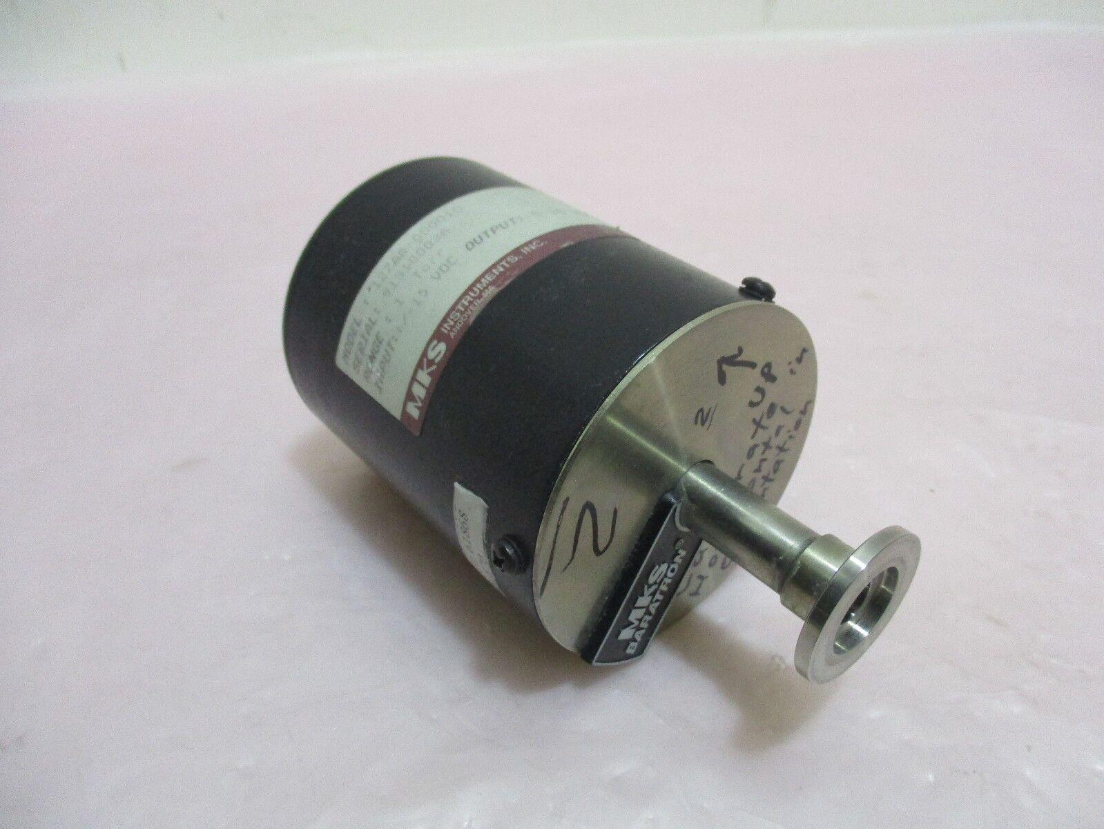 MKS 127AA-00001D, Baratron, Pressure Transducer, 1 Torr, ±15 VDC-250mA. 323974