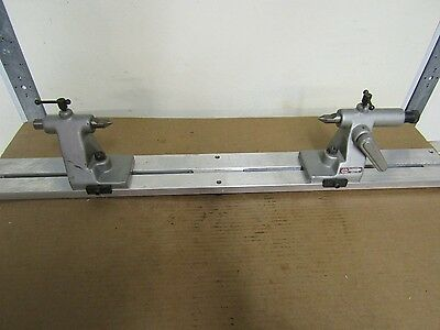 K.o.lee B922 Centers With 38 Aluminum Bench Center Stand Great For Comparator
