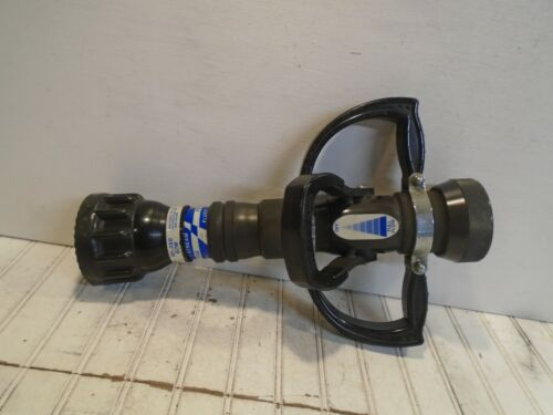 """Task Force Tips 2-1/2"""" Automatic Nozzle - Side Handles 50-350GPM Fire Nozzle 18"""""""