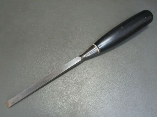 "Sash mortice chisel 3/8"" vintage old tool by Stanley"