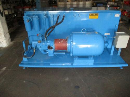 Oilgear  60 HP 60 GPM Hydraulic Power Unit  PVG130C2VR