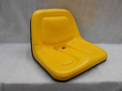 YELLOW SEAT JOHN DEERE 170,175,180,185,316,318,322,330,332,420,STX38 MOWERS  #BZ