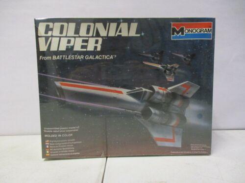 1978 Monogram Battlestar Galactica Colonial Viper Lot 4