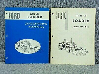 Oem Factory Ford Tractor Front End Loader 727 Operators Manual Se09391