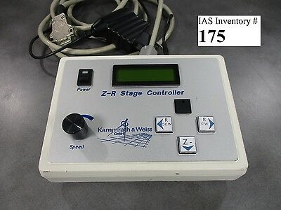 Kammrath Weiss Z-r Stage Controller Zeiss 1455 Scanning Electron Microscope