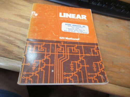 National semiconductor Linear Applications handbook PB 1967