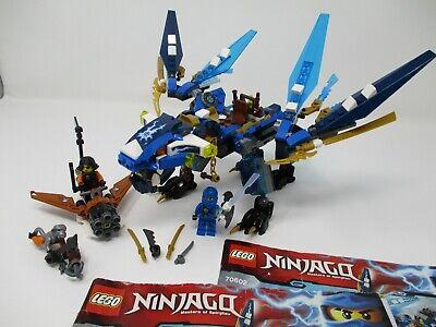 LEGO Ninjago Jay's Elemental Dragon 70602. Very Nice Condition!