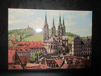 Ansichtskarte Bamberg, Dom und Altenburg, ca. 60er Jahre
