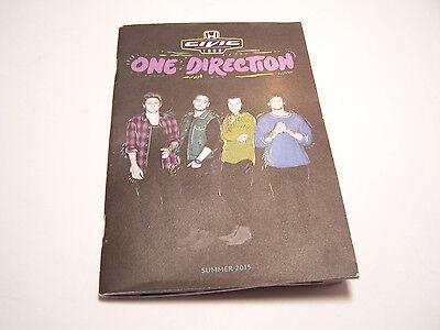 ONE DIRECTION Tour Program Summer 2015 1D Handout Booklet Stadium Tour Book
