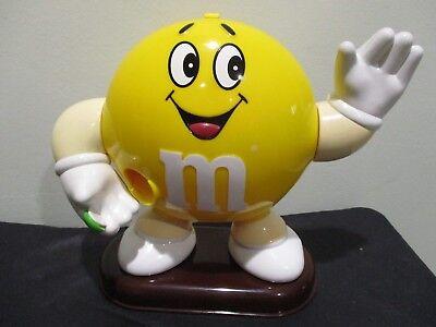 UK Asian (??) M&M Yellow plain dispenser.