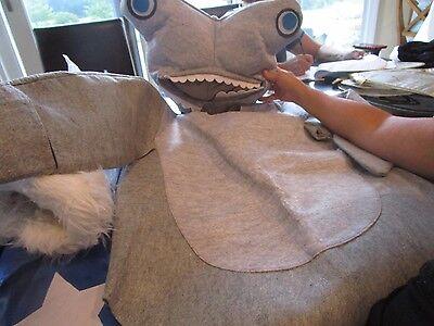 Hammerhead Shark Costume (Pottery Barn Kids Teen Halloween costume  Hammerhead Shark size Small )