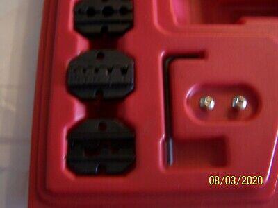 Master Crimping Tool Set Mac Tools Tct800-ms Dies Only - Set Of 5