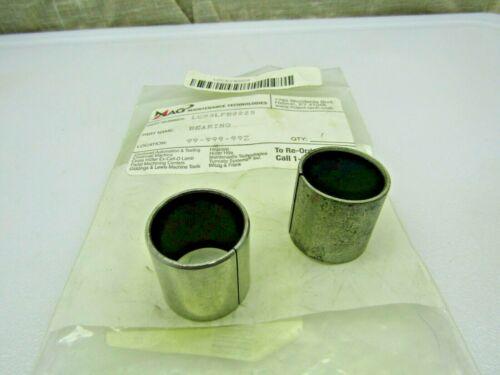 (Lot of 2) 22mm X 25mm X 25mm CB2025 M2225TU Split Sleeve Bushing Bearing